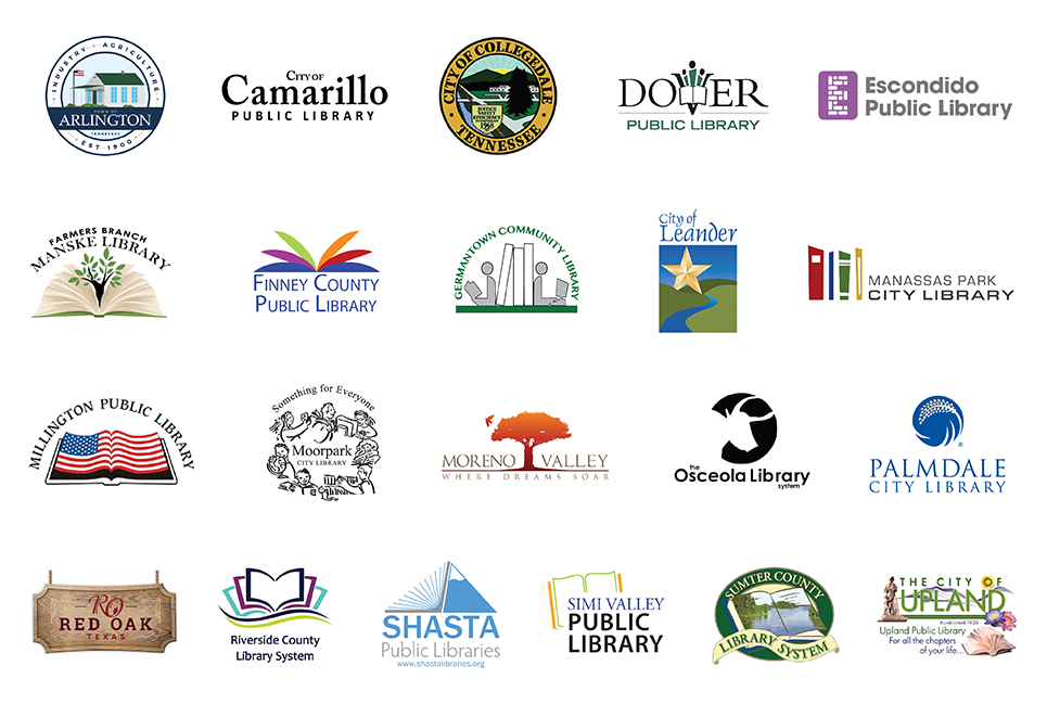 Logos of Our Libraries